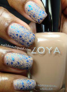 Zoya Flynn with L.A. Girl Glitter Addict Jostle (matted)
