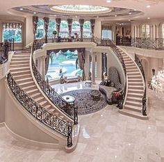 Mansion houses, mansion bedroom, dream mansion, luxury homes dream Dream Home Design, Home Interior Design, My Dream Home, Dream Homes, Luxury Interior, Kitchen Interior, Modern Mansion Interior, Interior Decorating, Kitchen Decor