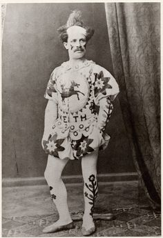 Charlie Keith, famous clown and circus owner, 19th century.