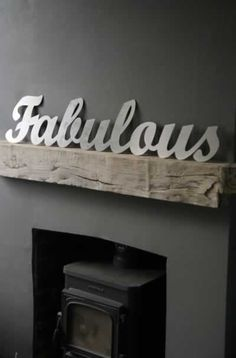 "metal ""fabulous"" sign"