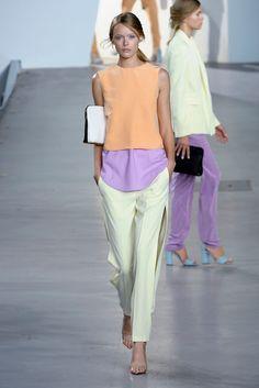 Sherbet colors. Love for spring. Chanel Spring/summer 2012
