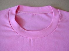 How to sew a Tee neck