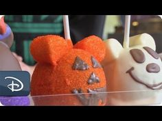 DIY Halloween: How-To Make 'Witch Minnie' Candy Apples | Disney Parks - YouTube