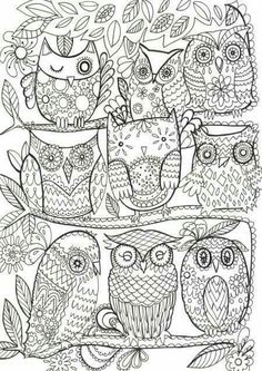 Mandala Owl Coloring Pages. 31 Mandala Owl Coloring Pages. More Than 15 Mandala Owls Coloring Pages Reducing the Stress Owl Coloring Pages, Printable Coloring Pages, Free Coloring, Coloring Sheets, Coloring Books, Kids Coloring, Owl Art, Colorful Drawings, Artsy