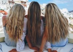 Barefoot Blonde: 7 tips for healthy summer hair Best Friend Pictures, Bff Pictures, Friend Photos, Summer Hairstyles, Trendy Hairstyles, Girl Hairstyles, Party Hairstyles, Wedding Hairstyles, Best Friend Goals