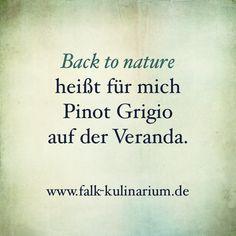 Back to nature heißt für mich..