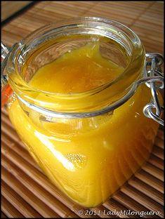 Lemon curd sans beurre et très peu sucré