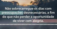 Bom dia. Bom domingo.  http://www.tiagoraferreira.com/oportunidade/novorumo2-0/ #bomdia #domingo #oportunidade #perder #preocupacoes