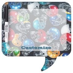 Get a message board from Zazzle. Choice of magnetic, adhesive, sticky strips or no backing. Bubble Style, Command Strips, Dry Erase Board, Pen Holders, Football Helmets, Colorful Backgrounds, Adhesive, Bubbles, Boards