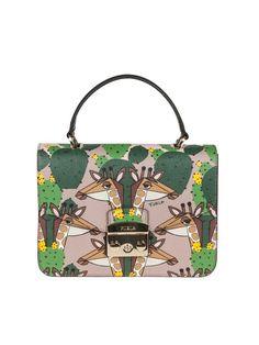 7dd7a545ac Furla Furla Hand Bag Metropolis S Leather Multicolor