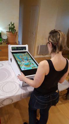 Retropie Arcade, Bartop Arcade, Arcade Room, Mini Arcade, Arcade Games, Arcade Machine, Vending Machine, Gaming Girl, Diy Arcade Cabinet