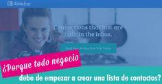 Nueva entrada en el #blog. Aquí la importancia de empezar a crear una lista de contactos¡  Después de leer el articulo querrás a empezar crear una ;) ✔ http://jesicaperez.net/?ad=pin #negocio #aweber #marketing #emprender