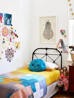 Quarto de criança divertido  | Pinterest: Natalia Escaño