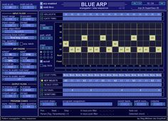 Free arpeggiator VST. BlueARP - VST MIDI Arpeggiator with pattern sequencer stile, designed for electronic music genres. http://www.vstplanet.com/Other_audio_tools/Other_7.htm#Arpeggiator_VST