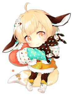buns and bows by jorsu on DeviantArt