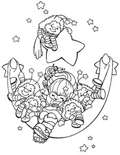 cartoon coloring pages Rainbow Brite color page cartoon characters coloring pages, color plate, coloring sheet,printable coloring picture Cartoon Coloring Pages, Coloring Book Pages, Printable Coloring Pages, Coloring Sheets, Colorful Drawings, Colorful Pictures, Coloring Pages For Kids, Kids Coloring, Fairy Coloring
