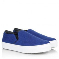 Celine Sneakers – Sneaker Slip-On Royal Blue – in blau – Sneakers für Damen