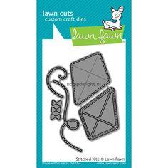 Lawn Fawn craft die: Stitched Kite