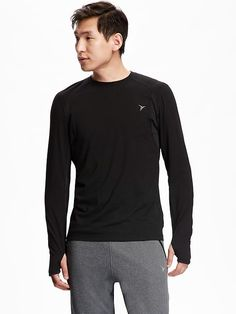 Men's Go-Warm Long-Sleeve Tee