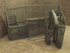 Kitchenaid Dishwasher Silverware Basket To Drain : Kitchenaid Dishwasher  Silverware Basket Set Tweet