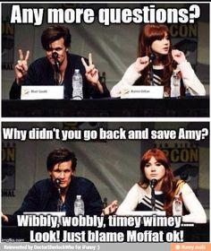 Wibbley wobbley, timey wimey....Look! Just blame Moffat ok!