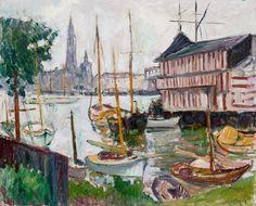 Emile-Othon FRIESZ Bassin des yachts à Sainte-Anne, Anvers