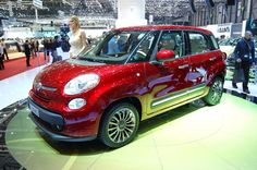 The Fiat 500 wins hearts and wallets by trading in large measure on its unassailable cuteness and compact dimensions. But that's not enough for Sergio New Fiat, Fiat 500l, Geneva Motor Show, Driving Test, Perfect Photo, Model Photos, Vancouver, Super Cars, Main Street