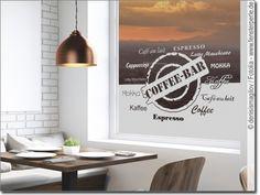Sichschutzfolie Fensterfolie farbig für Küche Spruch Guten Appetit Besteck Koch