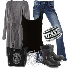 """Rock Concert"" by mhuffman1282 on Polyvore"