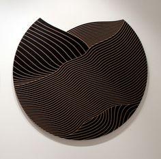 Richard Blackwell, 'Roll'  2011, Laminex on MDF.