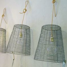 wire shade lamps