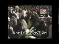 Casey Niccoli & Dave Navarro accept MTV VMA 1991 for Been Caught Stealing - Jane's Addiction - YouTube Dave Navarro, Jane's Addiction, Mtv, Youtube, Entertainment, Youtubers, Youtube Movies