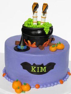 Halloween Cake decorating idea