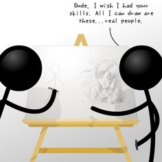 stick people with quates and pictures | Cileo on deviantART