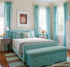 beautiful beachy bedroom decoration Beachy Bedroom Ideas