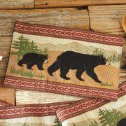 Black Bear Table Linens