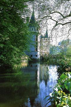 Azay-le-Rideau Castle ~ Loire Valley, France