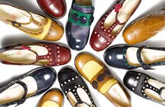 Orla Kiely for Clarks Shoes AW14 can't wait for mine to arrive :)