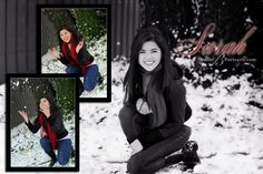 Outdoor pictures in the snow at Studio-B-Portraits-Espinoza_3806bw