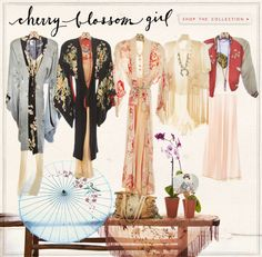 Cherry Blossom Girl- Our newest Vintage Loves Collection! #freepeople #vintage #vintageloves