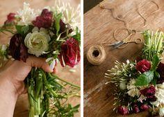 DIY Idea: Winter Wedding Bouquet from Chelsea at Frolic #diybouquet