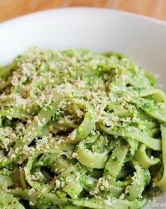 Low FODMAP and Gluten Free Pesto Pasta
