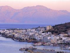 Elounda, Crete, Greece, Europe Photographic Print by Upperhall Ltd at AllPosters.com