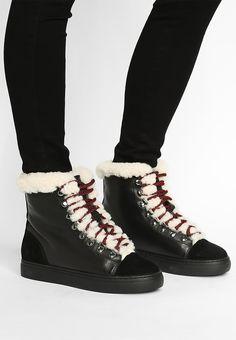 0fff2c6ed32 ALDERSHOT - Sneaker high - black @ Zalando.at 🛒. SvartSkorTräningsskor