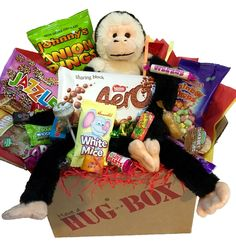 Hug box uk hugboxuk on pinterest monkey hug box hugbox personalised negle Gallery