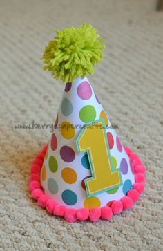 Cute Party Hat DIY  @catherine gruntman LaChance This has some cute ideas...just pictures, but still cute ideas to maybe work with