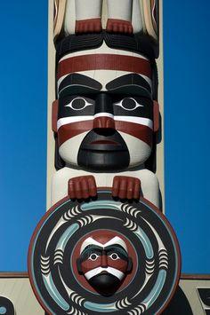 Northwest Coast Totem Pole