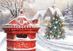 """Robin And Postbox"" Charity Christmas Card"