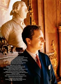 Prince Georg Friedrich of Prussia, Head of the House of Hohenzollern.