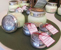 Aspen Bay Candles, made in Starksville, Mississippi.